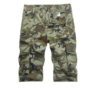 2018 New Men Cool Camouflage Summer Hot Sale Coon Casual Men Short Pants Brand Clothing Comfortable Camo Men Cargo Shorts