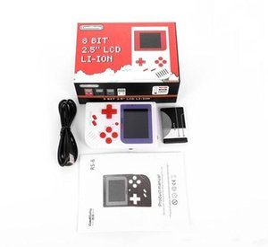 CoolBaby RS-6 Portable Mini Console de jeu portable rétro 8 bits LCD couleur joueur de jeu pour FC jeu DHL gratuit