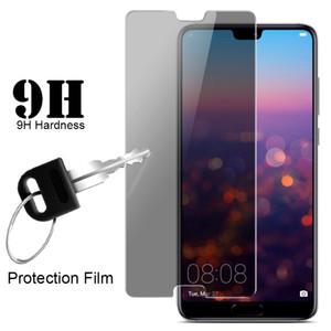 Película antideslumbrante 2.5D Anti espía para el protector de pantalla de vidrio templado Huawei P8 Lite / P20 Lite / P20 Pro / Nova 3 / Nova 3i