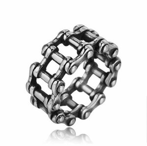 New Style Stainless Steel Hip Hop Cross Ring Fashion Vintage Retro Silver Mens Punk Biker Rings Male Casting Jewelry Gift