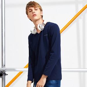 Yeni Varış Marka T Gömlek Erkekler Moda Baskılı T-Shirt Erkek Üst Kalite Erkekler Için Elastik Yumuşak Rahat Sıcak Satış Tshirt