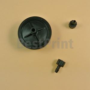5mm * 3mm 6mm * 4mm mürekkep tüp 45mm DIA disk şekli uv yazıcılar için siyah renk mürekkep filtresi