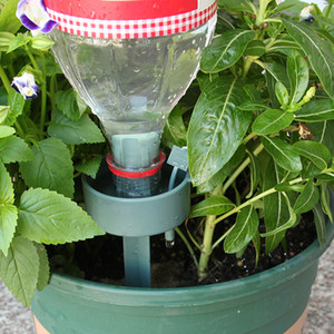 2set High Quality Automatic plant waterer drip irrigation Waterer drip watering Houseplant garden tool Garden Sprinklers.