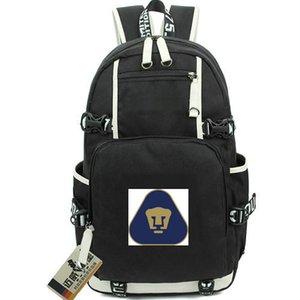 Universidad Nacional sırt çantası UNAM daypack Hayranları Futbol kulübü schoolbag Futbol sırt çantası Laptop sırt çantası Spor okul çantası Out door day pack