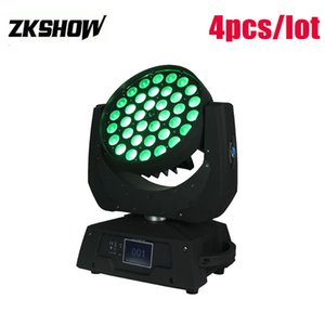 80% di sconto 36 * 10 W RGBW LED Beam Zoom Wash Testa mobile Luce 400 W DMX512 DJ Disco Party Wedding Stage Lighting Projector 230 V Spedizione gratuita