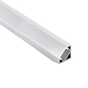100 X 2М устанавливает / серия 30 градусов угол формы алюминиевый профиль светодиодные полосы света типа V привели алюминиевый канал для света водить шкафа