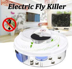 Электрический эффективную ловушку для мух, вредителей насекомых Ловец устройство USB электрические автоматические мухоловки Fly ловушка ловить артефакты, ловушки насекомых