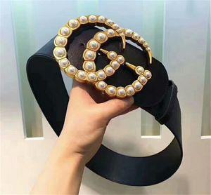 2019 7cm Fashion Designer Luxury Top Quality Gold Silver Headband, Cintura in pelle da donna da uomo, spedizione gratuita + scatola bianca