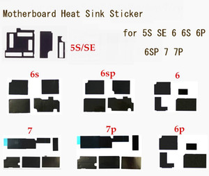 Motherboard heat sink sticker for iPhone 7 7 Plus 6 6S Plus SE 5S Glue Logic Board Heat Dissipation Cooling