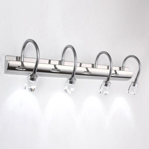 OOVOV LED Bolha de Cristal Da Lâmpada de Parede Do Banheiro Luzes Do Espelho Da Moda Washroom Wall Sconces Corredor Varanda Lâmpadas de Parede