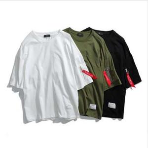 ASALI Fashion Tees Uomo 2018 Brand Trending Abbigliamento Cotone O-Collo T-shirt Estate New Solid Slim Fit High Street wear Top Tees