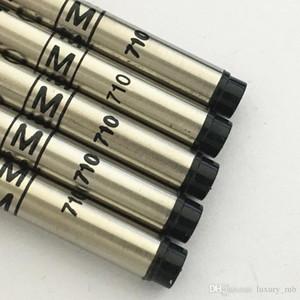 Accesorio de lujo de MB Pen Refill negro azul 710 bolas de la serie de rodillos de recarga de tinta de la pluma para los regalos
