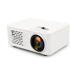 RD-814 LED ميني جيب بروجيكتور 320 × 240 مسرح منزلي Proyector دعم 1080P مثالي للفيلم المحمولة العارض مع البعيد تحكم