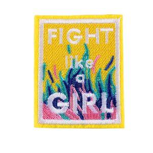 1 шт бой, как девушка шик вышитые шить железо на патчи знак шляпа мешок DIY ткани аппликация одежда ремесло