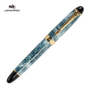 Известный бренд ручки jinhao x450 роскошные авторучки Красный лед мрамор серый трещины красочные Пенна интернет-магазин бесплатная доставка бизнес подарок ручка