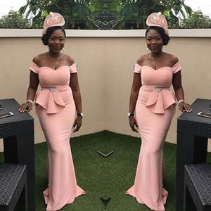 Aso Ebi Stil Abendkleider 2019 Neueste für Frauen Party Wear Backless Abiye Dubai Kaftan Backless Plus Size Abendkleider