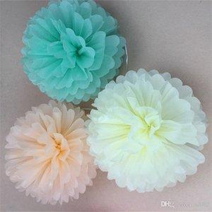 Свадьба декор ремесло цветок 10 шт. папиросная бумага пом помпоны цветочные шары мода свадьба горячие продажа 1 66gx4 гг