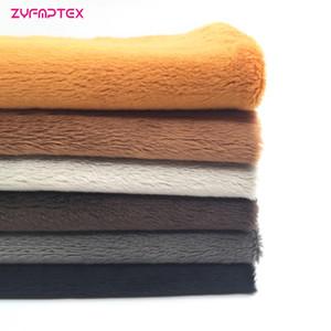 ZYFMPTEX 6Pcs / Lot нового прибытия серии Плюшевые 3мм 45x50cm Velboa Ткань Лоскутное ткань DIY Швейный материал для игрушек Бесплатная доставка