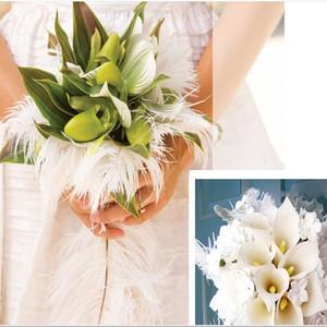 10-12 pulgadas Pluma de Avestruz Blanco Pluma Artesanía Suministros de Mesa de Mesa de Boda Centro de Mesa Decoración Pluma hermosa decoración