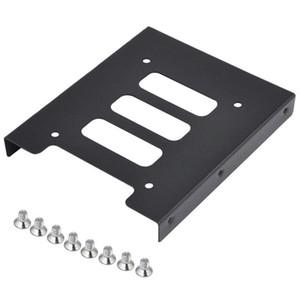 """Freeshipping 10pcs 2.5"""" bis 3,5"""" SSD HDD Metall Adapter Montagehalterung Festplattenhalter für PC"""
