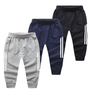 Kids Casual Pants Full Cotton Children's Trousers Baby Sports Pants