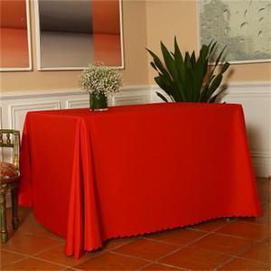 شعبي مؤتمر مفرش المائدة مفرش المائدة تخصيص الطباعة مخصص نقي اللون مستطيل دائري الجدول التنورة سهلة الاستخدام 6 5DX دد