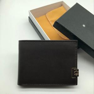 Bestseller Metal Fashion Business Portafoglio Short MT Clip MB Premium Gift Bag Porta carte di credito Tasca Case Photo M B Portafogli di alta qualità