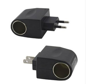 UE Plug 220 V AC Power à 12V DC Car Convertisseur Allume-cigare Adaptateur US Plug 110V