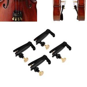 4шт Скрипка тонкой настройки тюнера с медным покрытием винты для 3/4 4/4 размер Скрипка аксессуары