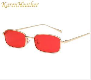 Nuevas gafas de sol, cajas de moda europea y americana, gafas de mar, gafas de sol, corrientes de marea, hombres y mujeres, gafas de sol metálicas.