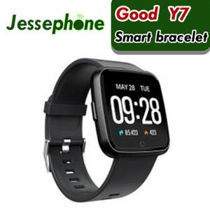 Y7 Smart Armband Blutdruck Sauerstoff Sport Fitness Tracker Uhr Pulsmesser Armband Pk Fitbit Versa Mi band 3 115 Plus 1 stücke