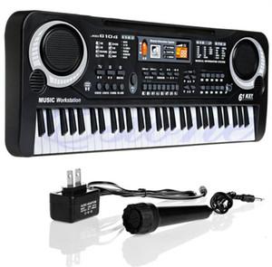 Bambini Elettrico Pianoforte Organo 61 tasti Musica tastiera elettronica Key Board per bambini regalo Chrismas spina degli Stati Uniti