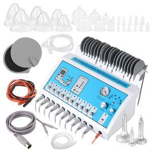 2in1 الكهربائية تحفيز التخسيس تدليك الثدي تدليك الليمفاوية السموم الدهون remova صالون آلة الجمال للبيع