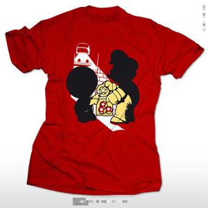 슈퍼 딜러 게이머 SNES 레트로 Kult 재미 luigi 두꺼운 젤다에 대 한 마리오 팬 T- 셔츠 유니폼 코 튼 반 슬리브 O- 넥 T 셔츠