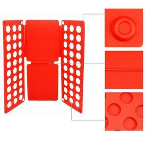 Colore casuale Pratico Home Child Adult Clothes Folder Organizer Quick T-Shirt Vestiti Lavanderia Pieghevole Fold Folding Board