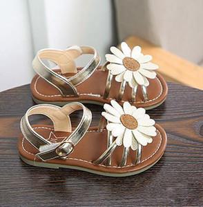 Enfants Desginer Soleil Fleur Style Sandale Filles Étudiants Chaussures Chrysanthème Conception sandale chaussures de plage Livraison Gratuite