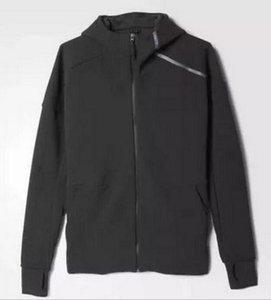 Marka Bahar Ve Güz erkek spor ceket kapşonlu ceket Erkekler rahat Ince Rüzgarlık Fermuar sportwear Moda Z N E hoody Coats