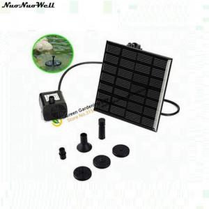 7V 1.2W Домашний цветочный сад Автоматические солнечные наборы для воды Мини-PV Ландшафтный фонтан Fish Tank Water Cycle System Солнечные панели