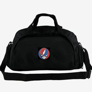 Grateful Dead duffel bag Psychedelic tote Country Rock band music backpack 2 way use luggage Daily shoulder duffle Sport sling pack