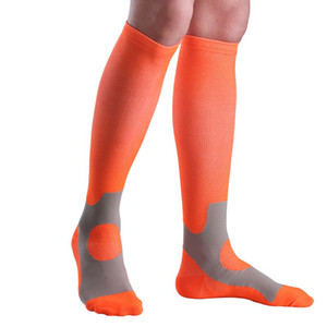 Man Woman Compression Stockings Comfortable Relief Soft Copper Leg Support Stretch Breathable Stockings