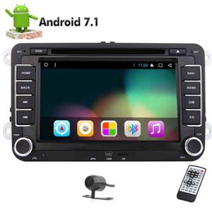 EinCar Android 7.1 Octa Core Double Din Car Stereo Autoradio for VW Jetta Golf Navigation Car DVD GPS Video Player Bluetooth Headunit