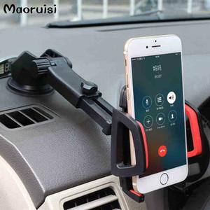 Support de téléphone de voiture accessoires gps ventouse auto tableau de bord pare-brise mobile téléphone portable support de montage rétractable
