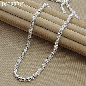 Necklace Chain Silver Necklace 925 Silver Fashion Sterling Jewelry Link Chain