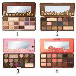 HOT Makeup Eyes Chocolate Bar Sweet Bon Bons Semisweet Sweet Peach Eyeshadow Palette 4 Different Colors