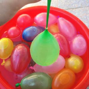 Balões De Água De Látex De Verão Balões De Água Bola De Água-cheia Balões Chindren Crianças Água Praia Brinquedos Super Rápido E Fácil De Enchimento