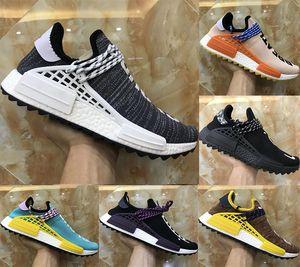 Alta Qualidade Nova NMDS Raça Humana Knitting Kids Athletic Shoe Original Corrida Humana Pharrell Williams Hu NMD_TR Boosts Kids Correndo Sneaker
