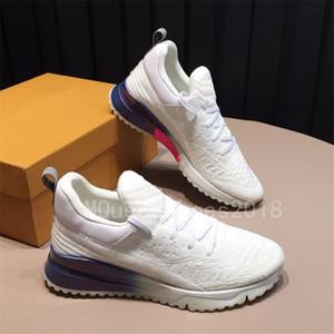 2018 Paris Tasarımcı Casual Ayakkabı Womens Spor Marka Koşucular Örme Mesh Nefes Günlük Ayakkabı Moda gösterisi tenis ayakkabısı