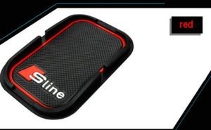 Car rubber phone mat GPS support Car Accessories For Audi A1 A3 A5 A7 A6 A8 Q3 Q5 Q7 S3 S7 S5 RS3 Sline 2000-2015 2016