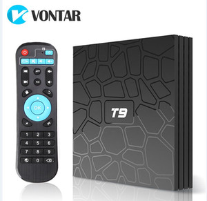 Originale T9 Android 9.0 TV Box Rockchip RK3318 quad-core 4G 32G 4GB 64GB Media Player Smart TV
