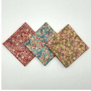 Le donne hanno stampato la farfalla bronzante Cherry Sakura Fazzoletti giapponesi di Furoshiki 47cm / 100% cotone all'ingrosso Molti usi